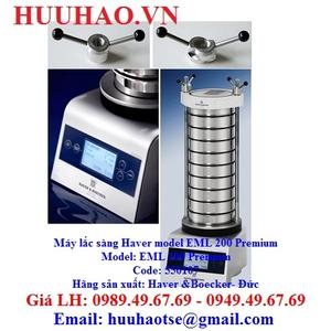 Máy lắc sàng rung model EML 200 Premium