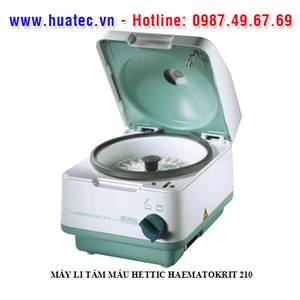 MÁY LI TÂM MÁU Model: HAEMATOKRIT 210