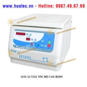 MÁY LI TÂM TỐC ĐỘ CAO Model: H1850