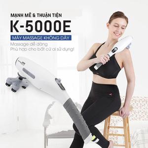 Máy massage cầm tay pin sạc WelbuTech Kangaroo K-5000E