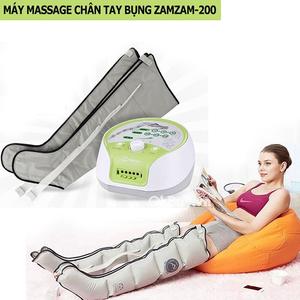Máy massage chân, tay, bụng áp suất khí Hàn Quốc ZamZam 200