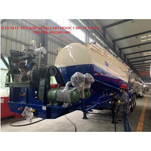 Bán máy nén khí 12m3 lắp cho mooc bồn chở xi măng