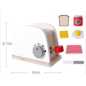 Bộ đồ chơi gỗ máy nướng bánh mì