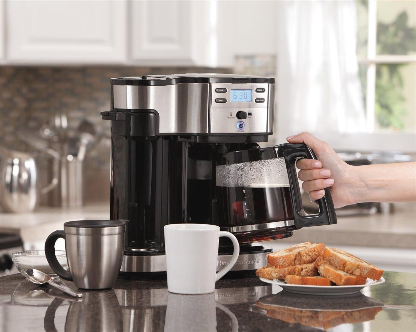 Nên chọn máy pha cà phê gia đình loại nào