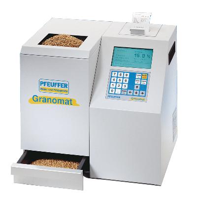 Máy phân tích độ ẩm và khối lượng riêng trong ngũ cốc, model: Granomat, Hãng: Pfeuffer / Đức