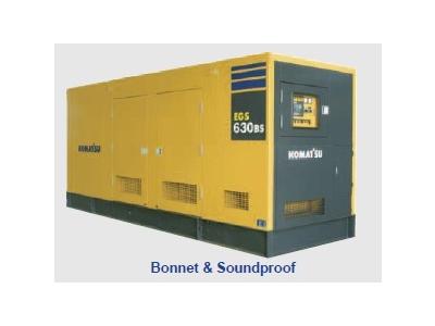 Máy phát điện Diesel EGS850-6