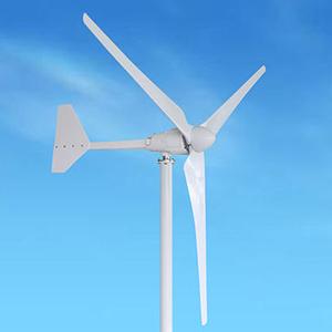 Máy phát điện gió trục ngang 3 cánh 2 kw