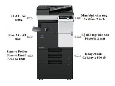 Máy photocopy đa năng Bizhub 367