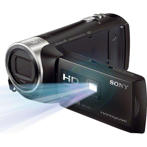Máy quay Sony HDR-PJ410/BE HD Handycam with Built-In Projector, bộ nhớ trong 8GB