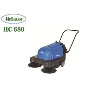 Máy quét rac công nghiệp đẩy tay HiClean HC680 New 2 chổi
