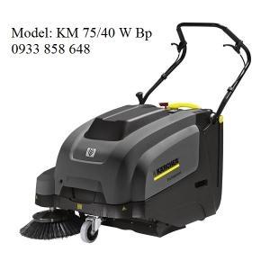 MÁY QUÉT RÁC MINI CÔNG NGHIỆP KARCHER Model: KM 75/40 W Bp