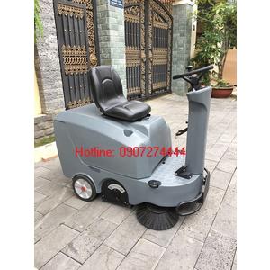 Máy quét rác ngồi lái Kraffer GM-MINIS