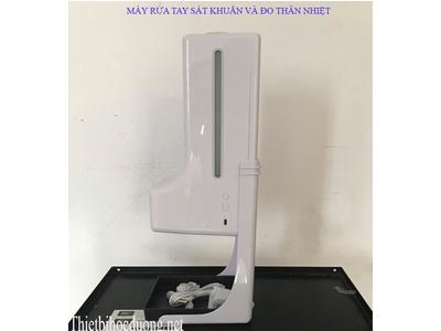 Máy xịt nước rửa tay sát khuẩn và đo thân nhiệt K9X