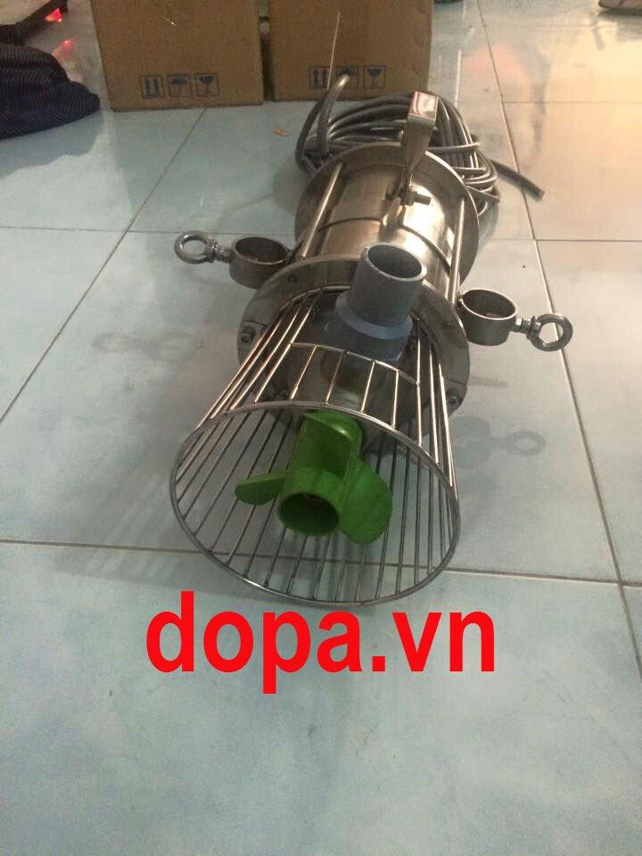 Máy Sục Khí Chìm Tạo Oxy Hòa Tan Cho Nuôi Trồng Thủy Sản