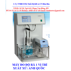 MÁY THỬ ĐỘ RÃ 1 VỊ TRÍ ( KIỂM TRA ĐỘ TAN RÃ) THUỐC VIÊN DTG-1000