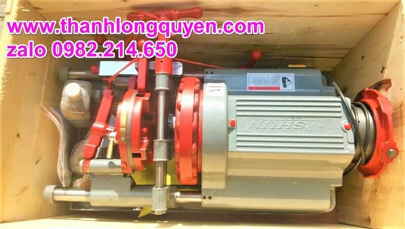 máy tiện ren ống lushun z1t-r2 21mm-60mm 1 đầu bò