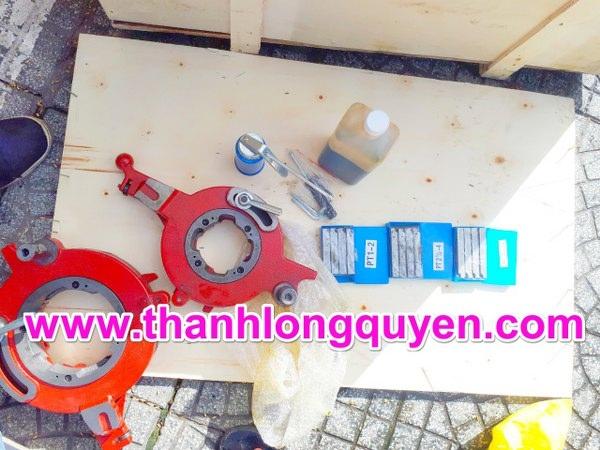 """máy tiện ren ống z1t-r4 1/2""""-4"""" long shun"""