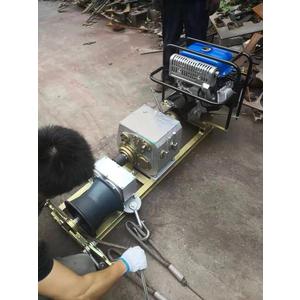 Máy tời cáp động cơ chạy xăng/dầu JM-5