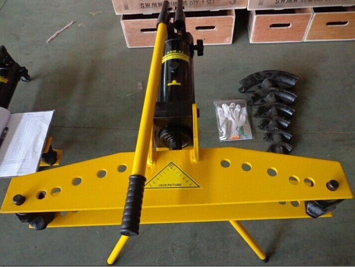 Máy uống ống HHW-2J - uốn ống thép inox bằng thủy lực