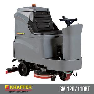 Máy vệ sinh sàn chà sàn ngồi lái Kraffer GM110BT85