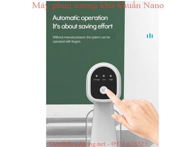 Máy Phun, Xịt Khử Khuẩn Cầm Tay Nano K5