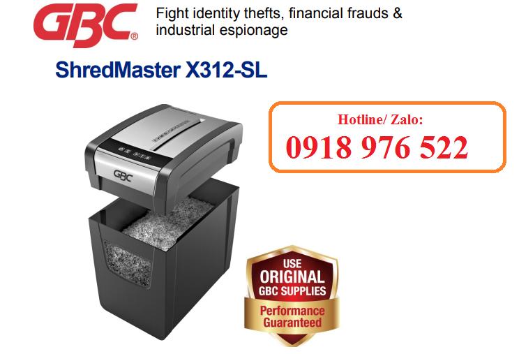 Máy Hủy Giấy GBC Shred Master X312-SL