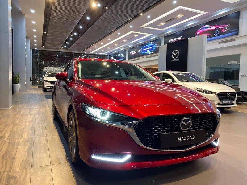 Mazda 3 1.5L Luxury (Vin 2021)