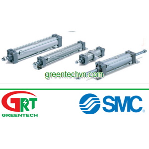 Pneumatic cylinder / double-acting / double-rod / adjustable-stroke | MB series |SMC Pneumatic | SMC
