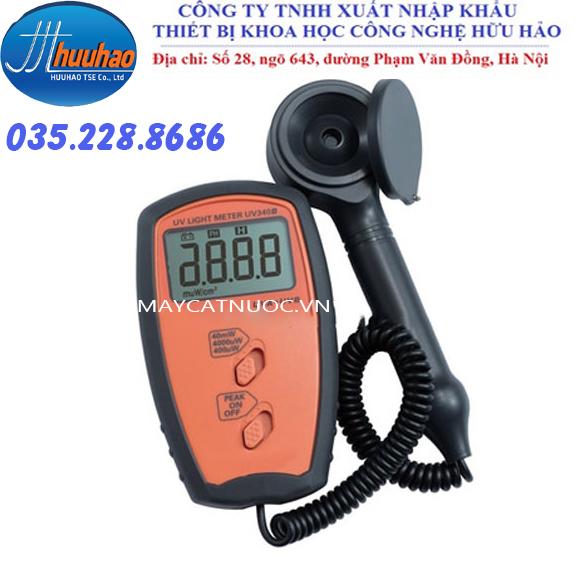 Máy đo cường độ tia cực tím UV 340B - Công ty Hữu Hảo