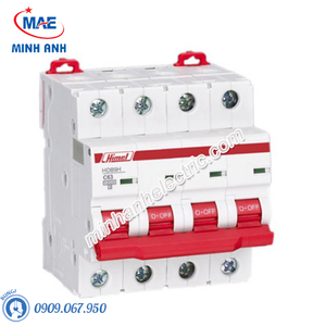 MCB 4P 20A 10kA - Model HDB9H634C20