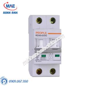 MCB DC dòng cắt 6000A RDX6-63DC 1P 2P 3P 4P 6kA
