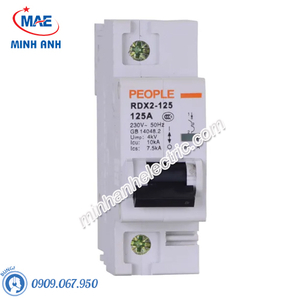 MCB dòng cắt 10000A - RDX2-125 1P C80 80A