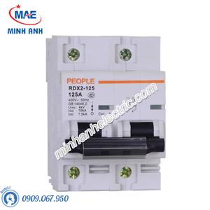 MCB dòng cắt 10000A - RDX2-125 2P C63 63A