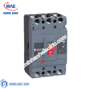 MCCB 3P 100A 50kA - Model HDM6S100M1003XXX3