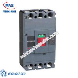MCCB 3P 400A 70kA - Model HDM6S400M4003XXX3
