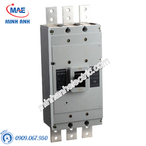 MCCB 3P 500A 50kA Type L - Model HDM1800L5003