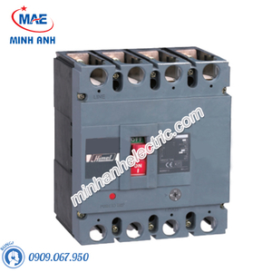 MCCB 4P 250A 50kA - Model HDM6S250M2504XXX3