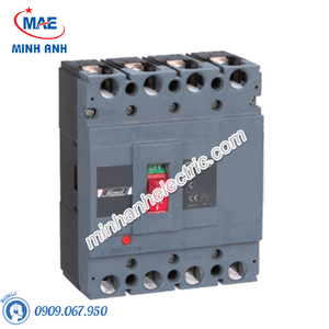 MCCB 4P 40A 50kA - Model HDM6S100M0404XXX3