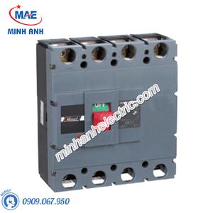 MCCB 4P 630A 70kA - Model HDM6S630M6304XXX3