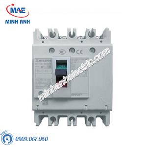 MCCB - Cầu Dao Tự Động Dạng Khối NF250-HGV 4P 125-160A 75kA MITSUBISHI