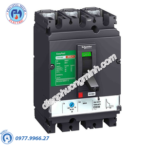MCCB CVS100F Type F 3P 80A 36kA 415V - Model LV510336