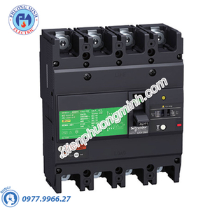 MCCB CVS400F Type F 4P 320A 36kA 415V - Model LV540308