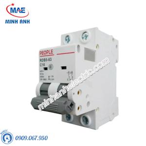 MCCB Dòng cắt 6000A - RDB5-63 - RDB5-125 2P 6kA