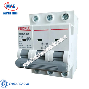 MCCB Dòng cắt 6000A - RDB5-63 - RDB5-125 3P 6kA