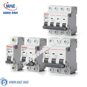 MCCB Dòng cắt 6000A - RDB5-63 - RDB5-125 4P 6kA