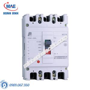 MCCB thiết bị đóng cắt - RDM1-250L 3P 4P 35kA
