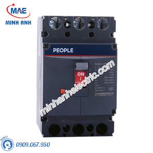 MCCB thiết bị đóng cắt - RDM5-125L 3P 4P 35kA