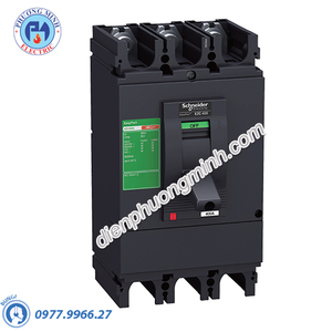 MCCB Type H 3P 400A 50kA 415VAC - Model EZC400H3400N
