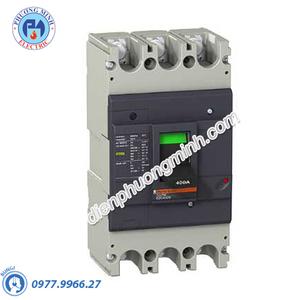 MCCB Type N 3P 400A 36kA 415VAC - Model EZC400N3400N