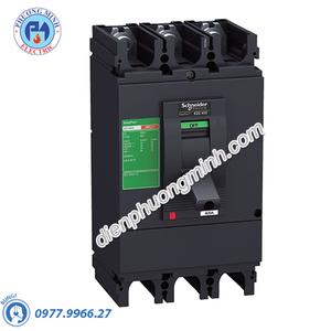 MCCB Type N 4P 400A 36kA 415VAC - Model EZC630N4400N